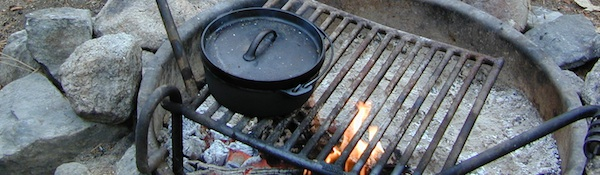 Cast Iron Campfire Cook