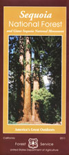 Sequoia National Forest Map