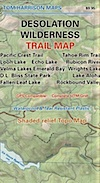 Desolation Wilderness Trail Map