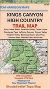 Kings Canyon High Country Map