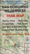 San Gorgonio Wilderness Trail Map