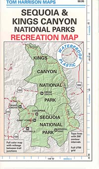 Sequoia map