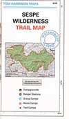 Sespe Wilderness Map