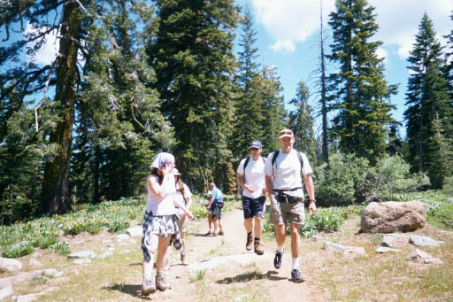 Hiking Gold Lakes Basin Recreation