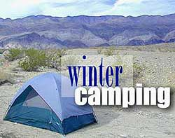 Winter Desert Camping
