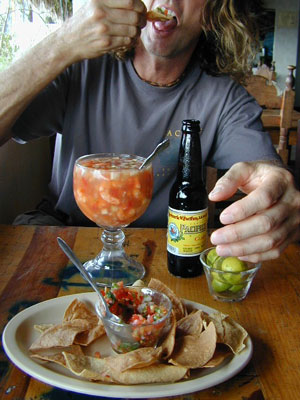 Dining Out in Baja