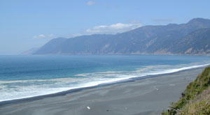 Lost Coast Black Sands Beach