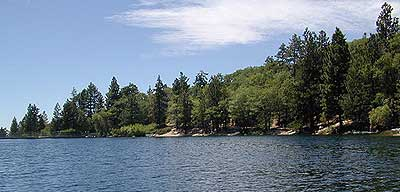 Lakes near Big Bear California