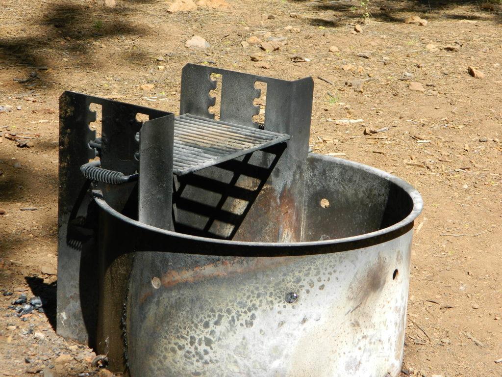 metal campfire ring