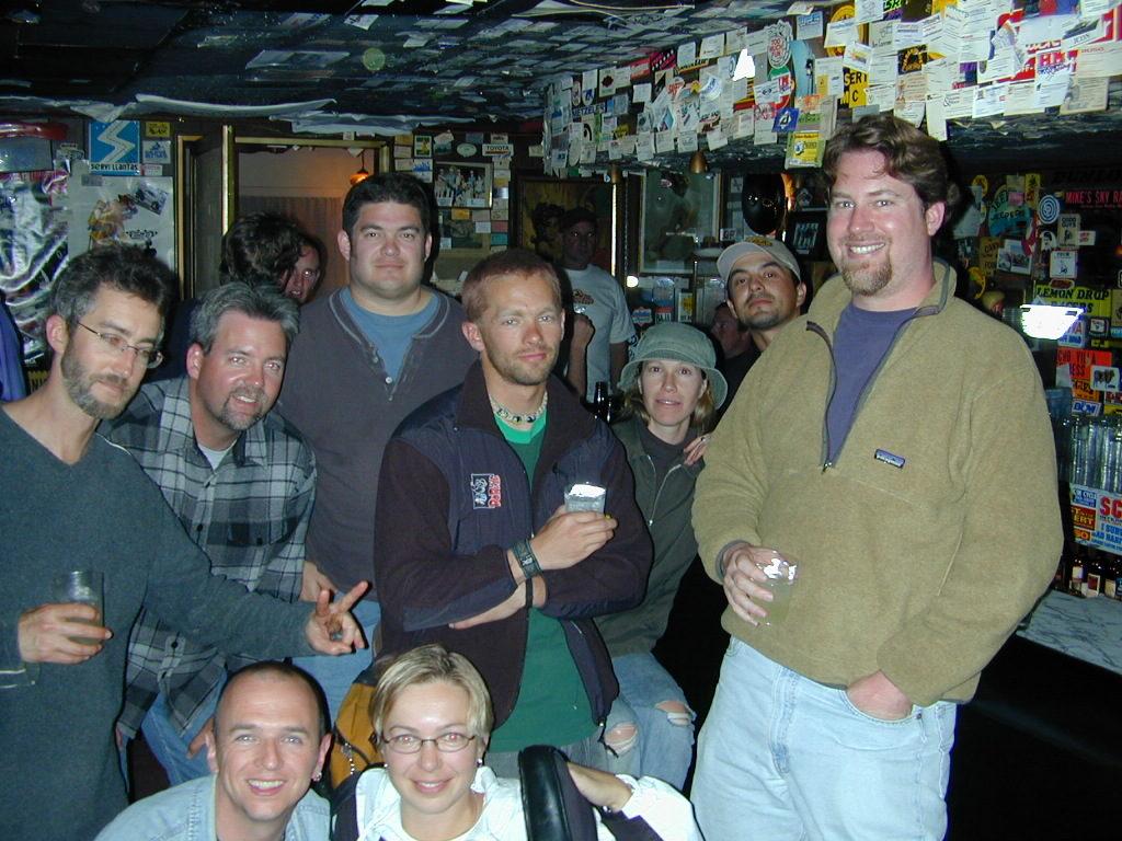 Bar Crew in 2003