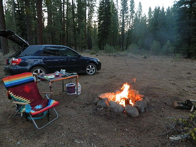 Free Camping North Lassen