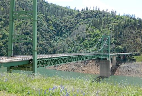 Oroville Suspension Bridge