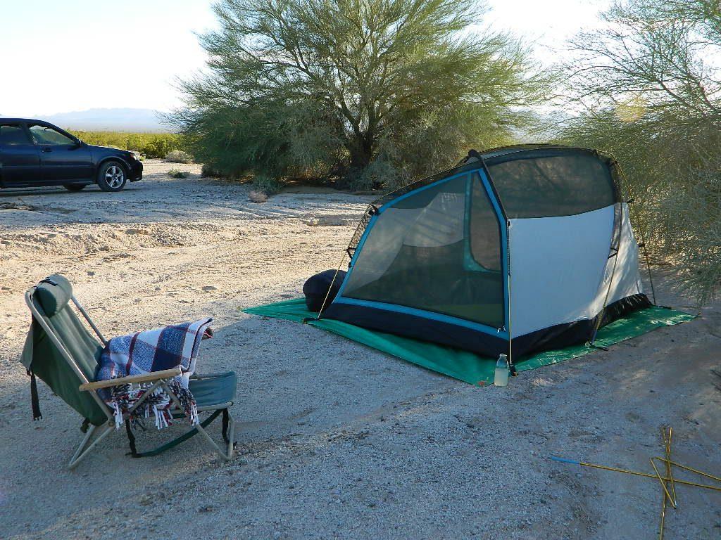 Free Camping US 95